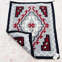 Hand Woven Navajo Wool Rug 39266