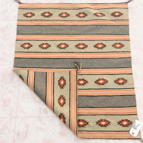 Hand Woven Natural Wool Navajo Rug Weaving 39268