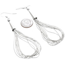 Navajo Silver Dangle Earrings 29958