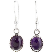 Navajo Amethyst Earrings 39272