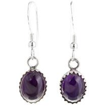 Navajo Amethyst Earrings 39272