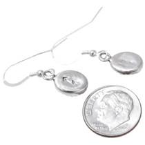 Sterling Silver Amethyst French Hook Earrings 39272
