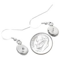 Sterling Silver Lapis Lazuli French Hook Earrings 39273