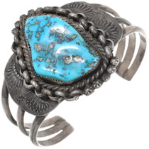 Old Pawn Sleeping Beauty Turquoise Bracelet 39280