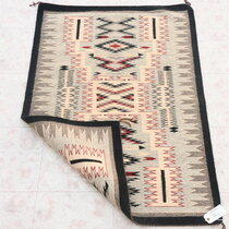 Vintage Navajo Storm Pattern Rug 39286