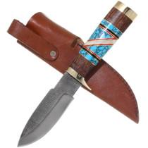 Native American Ironwood Handle Knife 39288