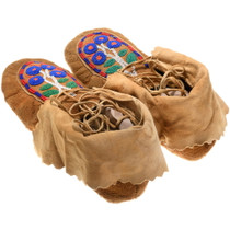 Plains Indian Soft Leather Moccasins 39290