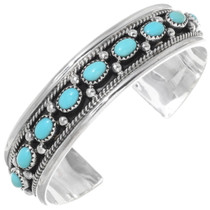 Turquoise Sterling Silver Cuff Bracelet 39294