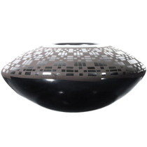 Casas Grandes Blackware Pottery Dazzler Bowl 39300