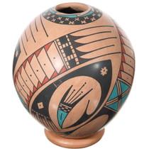 Mata Ortiz Polychrome Seed Pot 39302