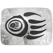 Hopi Style Bear Paw Belt Buckle 23065