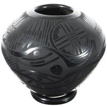 Mata Ortiz Black Snake Pottery 39307