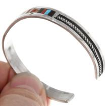 Sterling Silver Native American Zuni Bracelet 39325
