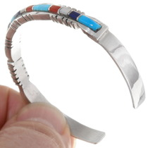 Sterling Silver Turquoise Lapis Bracelet 39326
