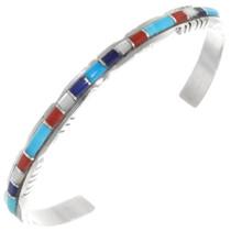 Turquoise Multistone Zuni Bracelet 39326