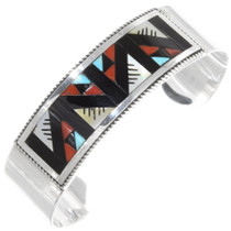 Sterling Silver Zuni Inlay Bracelet 39328