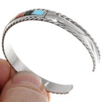 Sterling Silver Zuni Made Cuff Bracelet 39329