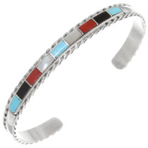 Native American Inlay Turquoise Bracelet 39329
