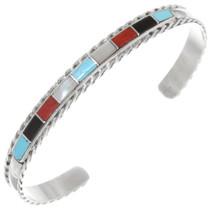 Native American Inlay Turquoise Bracelet 39329