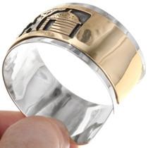 14K Gold Fill Navajo Storyteller Bracelet 39353