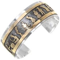 Navajo Ceremonial Dance Storyteller Bracelet 39356