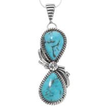 Navajo Turquoise Pendant 39357