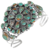 Green Turquoise Cuff Bracelet 39379