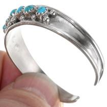 Children's Sterling Silver Turquoise Bracelet 39380