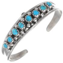 Navajo Turquoise Baby Bracelet 39380