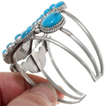 Turquoise Sterling Silver Cuff Bracelet 39381