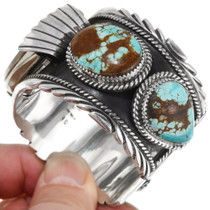 Natural Turquoise Native American Watch 39386