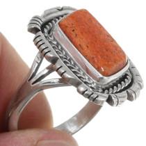 Natural Shell Native American Ring 39388