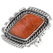 Sterling Silver Spiny Oyster Ring 39388