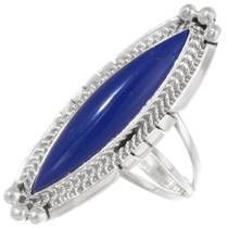 Lapis Lazuli Pointer Ring 39389