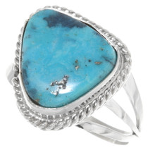 Turquoise Navajo Ring 39393