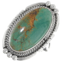 Green Turquoise Ring 39395
