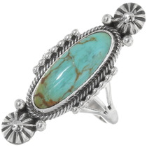 Green Turquoise Ladies Ring 39397