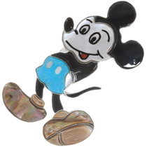 Large Inlaid Mickey Mouse Ring 39398