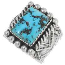 Natural Sleeping Beauty Turquoise Ring 39402