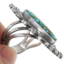 Native American Turquoise Ring 39406