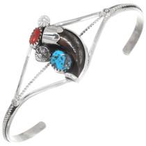 Turquoise Bear Claw Bracelet 39412