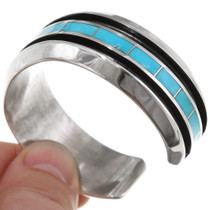 Sterling Silver Turquoise Cuff Bracelet 39417