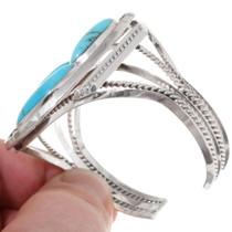 Sterling Silver Kingman Turquoise Bracelet 39421