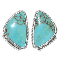 Turquoise Sterling Silver Earrings 39440