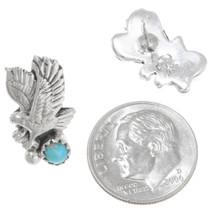 Navajo Eagle Earrings 39443