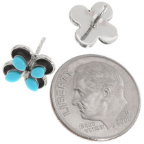 Sterling Silver Turquoise Post Earrings 39453