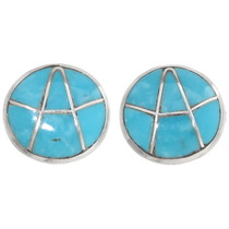 Sleeping Beauty Turquoise Earrings 39457
