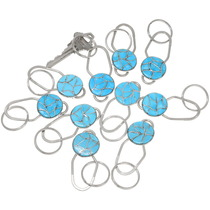 Zuni Turquoise Key Chain 39482