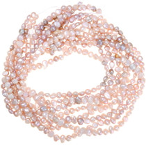 Natural Pearl Beads Iridescent Pink 37052