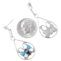 Sterling Silver Butterfly Earrings 39497